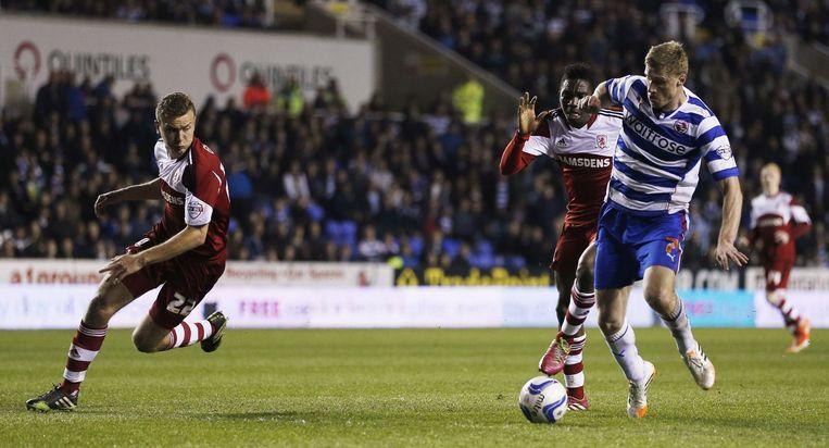 Pogrebnyak, aanvaller van de Engelse tweedeklasser Reading, is de enige die niet in Rusland voetbalt.