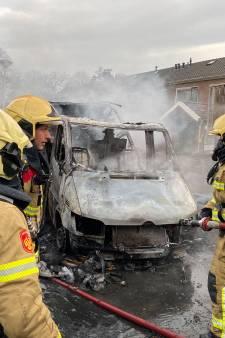 Camperbrand slaat over op schuurtjes in Zutphen