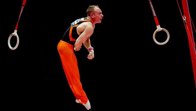 Yuri van Gelder tijdens de kwalificatie voor de Olympische Spelen. Beeld anp