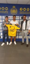 Leonardo Bertone tekende bij Waasland-Beveren.