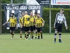 HVV wint de topper tegen SPV met ruime cijfers;  reservedoelman Rood Wit'62 mist penalty