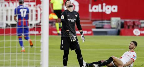 Luuk de Jong verliest met Sevilla verrassend van Eibar; Osasuna wint nipt van Athletic Bilbao