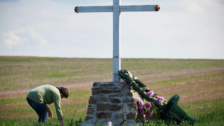 Plek van de ramp in Oost-Oekraïne Beeld ANP