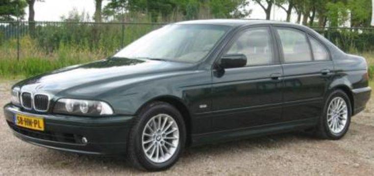 In deze auto werd Papadatos ontvoerd. De BMW was ooit nog in het bezit van de Nederlandse maffiabaas Holleeder.
