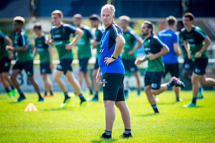 260718, Brunssum: training Fortuna Sittard, met Rene Eijer. Foto: Marcel van Hoorn.