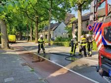 Heusdensebaan in Oisterwijk blijft nog enkele uren dicht vanwege gaslek