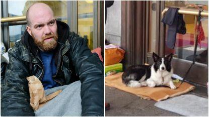 """Veerle helpt dakloze Steve gestolen hond terugvinden: """"Thor is zijn steun en toeverlaat, maar plots is zijn trouwe viervoeter verdwenen"""""""