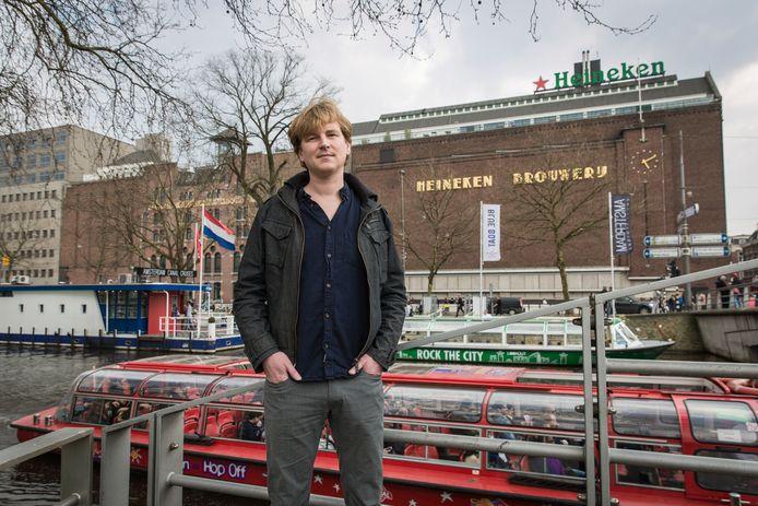 Onderzoeksjournalist Olivier van Beemen, die twee boeken schreef over Heinekens handel en wandel in Afrika.