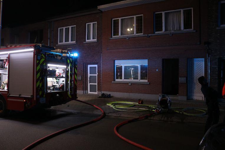 De schade bleef beperkt dankzij een snelle interventie van de brandweer.