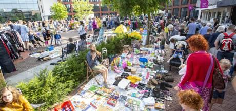 Dvd-verkoop op rommelmarkt in Rijssen lijdt onder Netflix