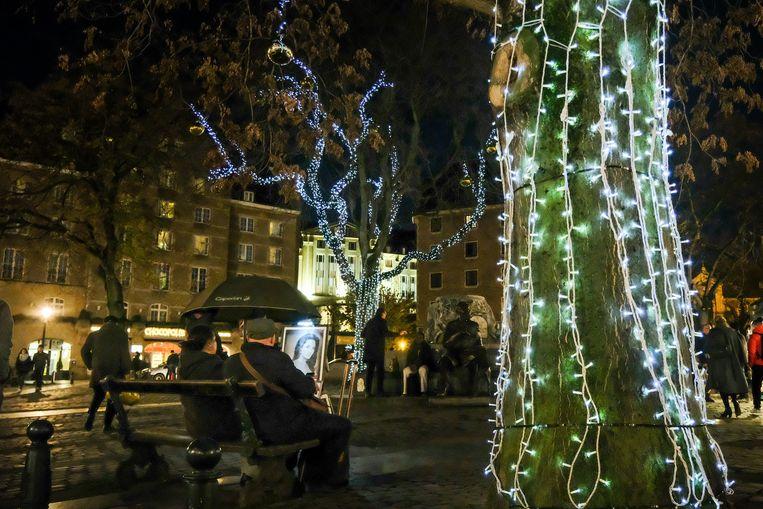 Opening: gezellige kerstsfeer