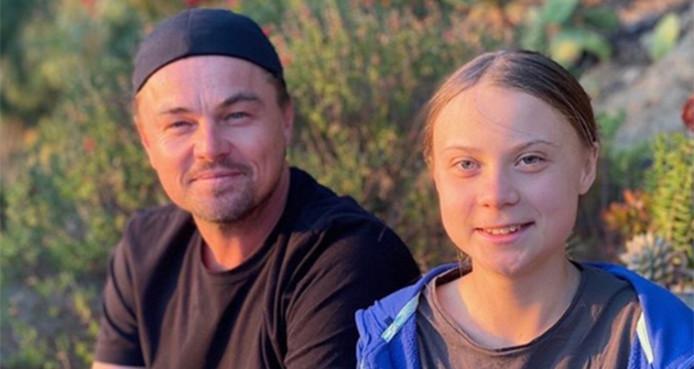 Leonardo DiCaprio et Greta Thunberg