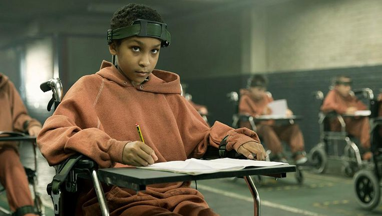 Sennia Nanua als Melanie in The Girl with All the Gifts. Beeld