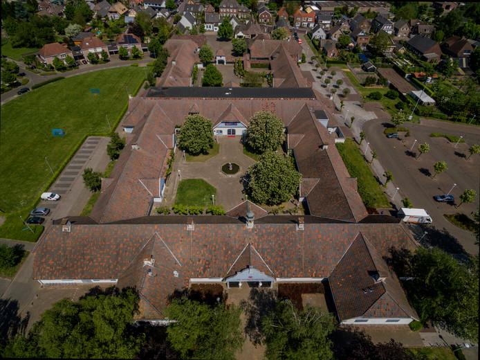 De Voorste Venne in Drunen, gezien vanuit de lucht.