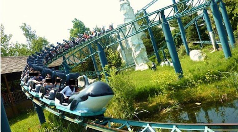 De Orca Ride opende in 1998 in het pretpark.