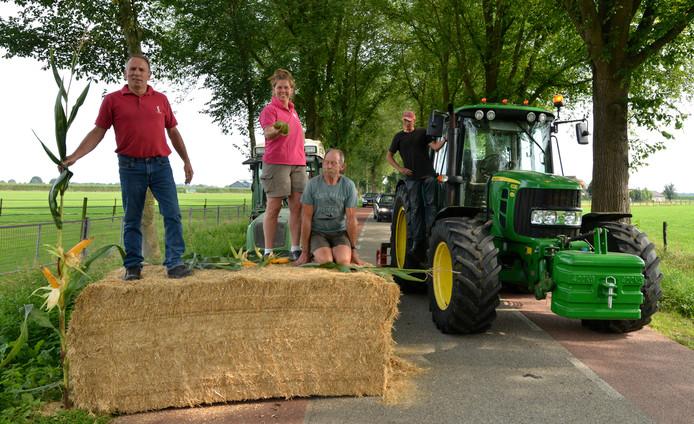 Boze agrariërs legden in augustus vorig jaar het verkeer over de Achterdijk al eens korte tijd stil, uit protest tegen het plan hier een spitsknip aan te brengen.