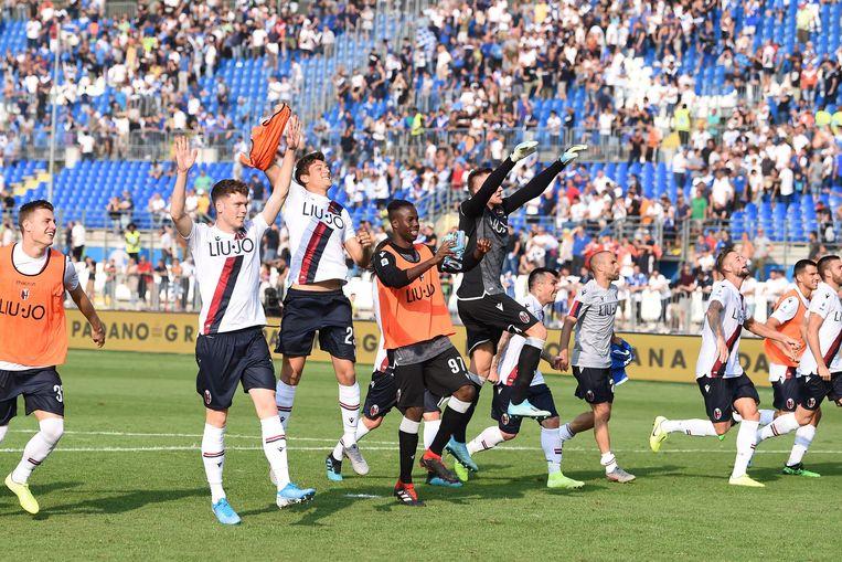 Bologna na de straffe comeback.