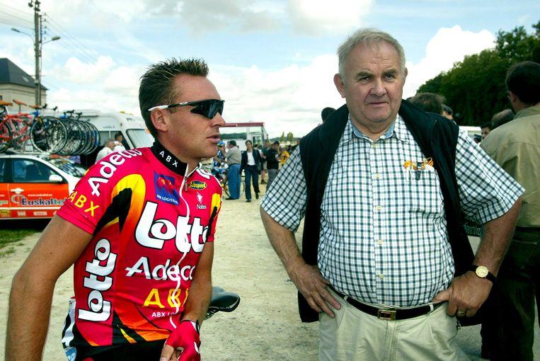 Jef Braeckevelt (rechts, naast hem staat Mario Aerts) werd 76.