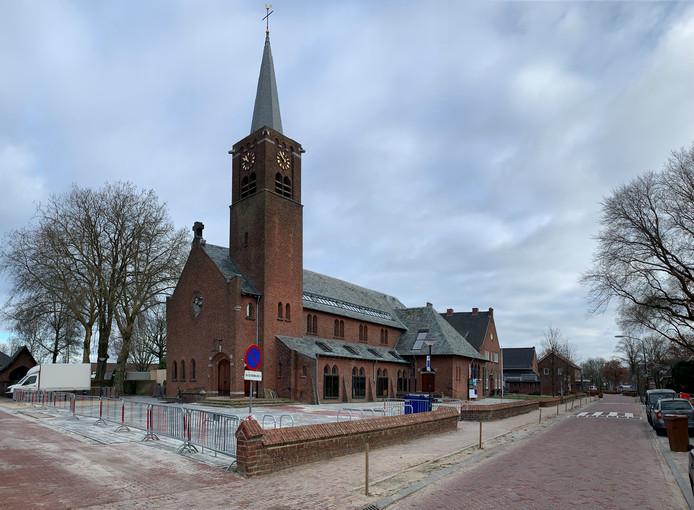 De Dorpsstraat in Esbeek.