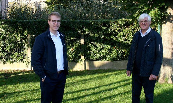 CD&V Heuvelland heeft met Nathan Duhayon een jonge nieuwe voorzitter. Hij volgt Bernard Heens op.
