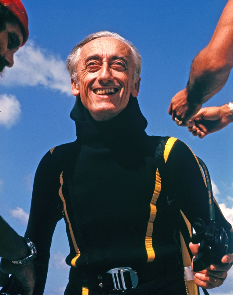 Jacques-Yves Cousteau Beeld ABC Photo Archives/Getty Image
