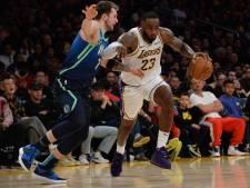 LA Lakers na tien zeges op rij onderuit bij Mavericks