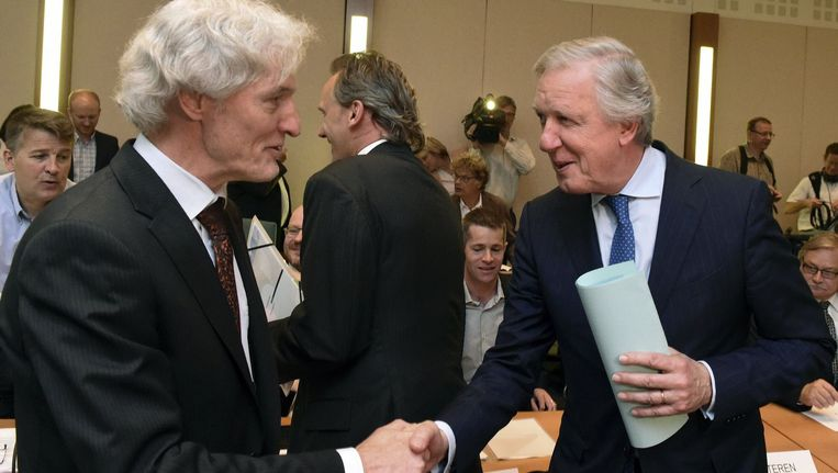 Eerste vergadering van het Nationaal Pensioencomité: minister van Pensioenen Daniel Bacquelaine.