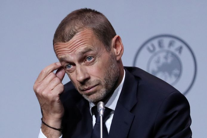 UEFA-voorzitter Ceferin