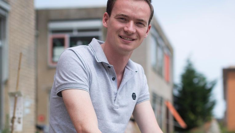 Marco de Leeuw: 'Studiegenoten zoeken al een baan buiten de stad' Beeld Rink Hof