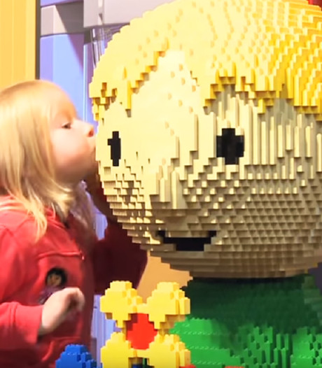 Attractiepark Legoland naar Scheveningen