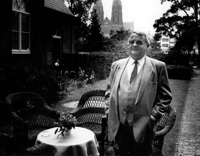Willem van de Moosdijk op een archieffoto uit 1989.