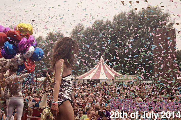Milkshake festival in 2014 Beeld Facebook Milshake Festival