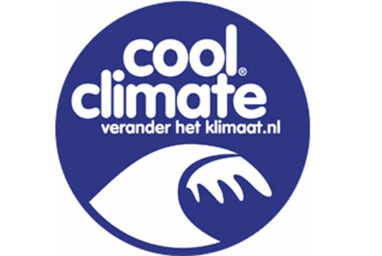 Het logo van 'cool climate' Beeld null