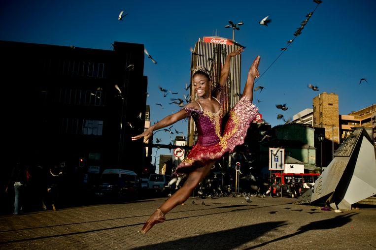 Michaela DePrince in Johannesburg, 2012. Beeld Getty