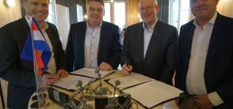 Denekamp en Nordhorn geven kanaal Almelo-Nordhorn toeristische impuls