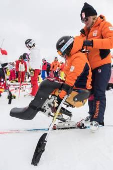 Zitskiester Linda van Impelen uit Emst slaat afdaling op Paralympics over