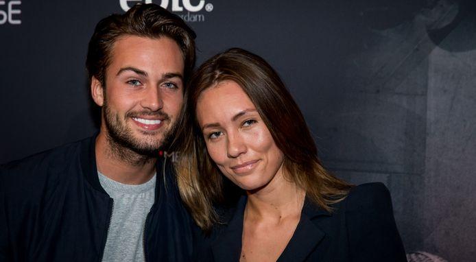 Dave Roelvink en zijn ex-vriendin Julia Mekkes.