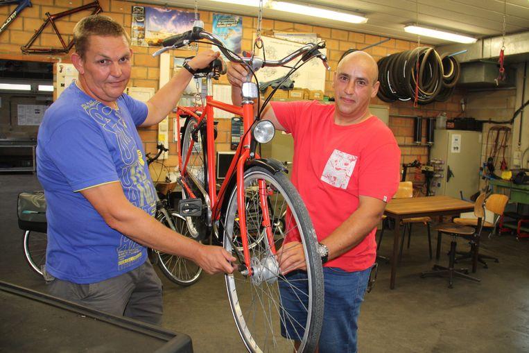 Pascal Schacht en Miguel Coussaert starten straks hun laatste jaar fietshersteller