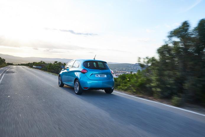 De vernieuwde Renault Zoe