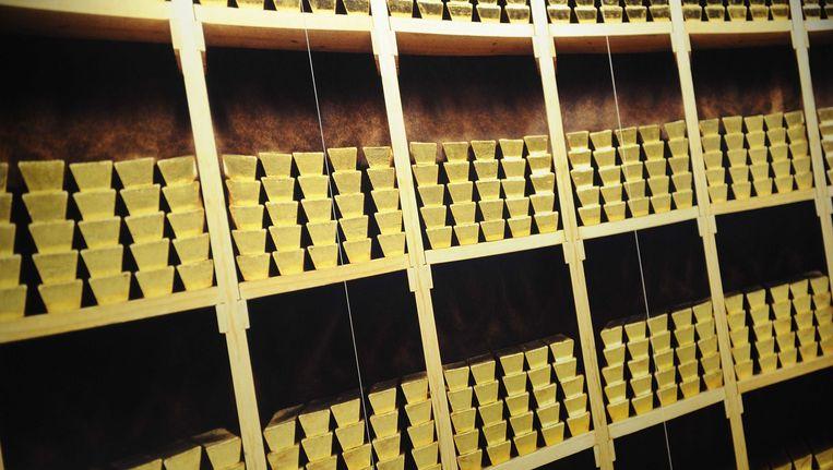 De goudvoorraad van de Nederlandsche Bank Beeld ANP XTRA
