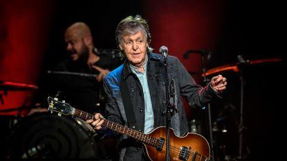 Paul McCartney en Ringo Starr trakteren fans op Beatles-reünie