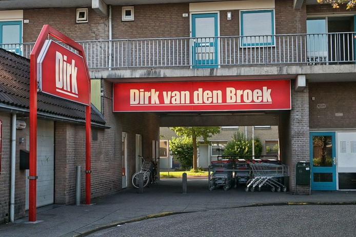 Overval op supermarkt Etten-Leur.