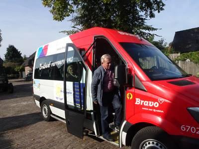 Tijd voor een feestje voor de vrijwillige buschauffeurs