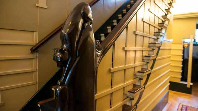 Villa Lebbink was erg populair op de Open Monumentendag Beeld Charlotte Odijk
