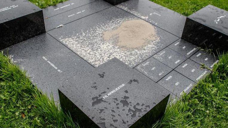 Monument voor de stad Amsterdam Beeld Carly Wollaert