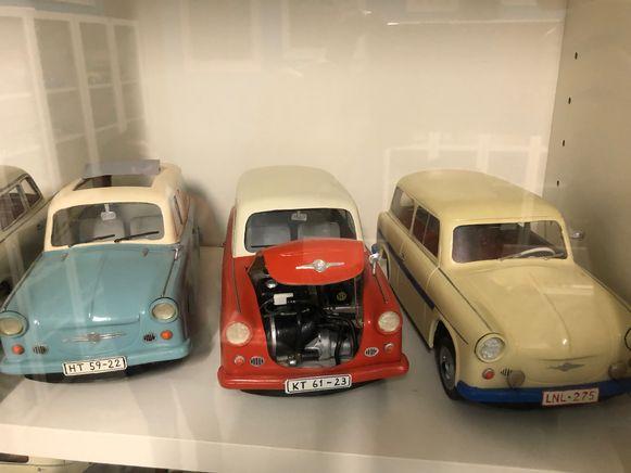 Pareltjes uit het Trabantmuseum.