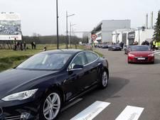 Wereldrecord elektrische auto's tussen Helmond en Eindhoven gehaald
