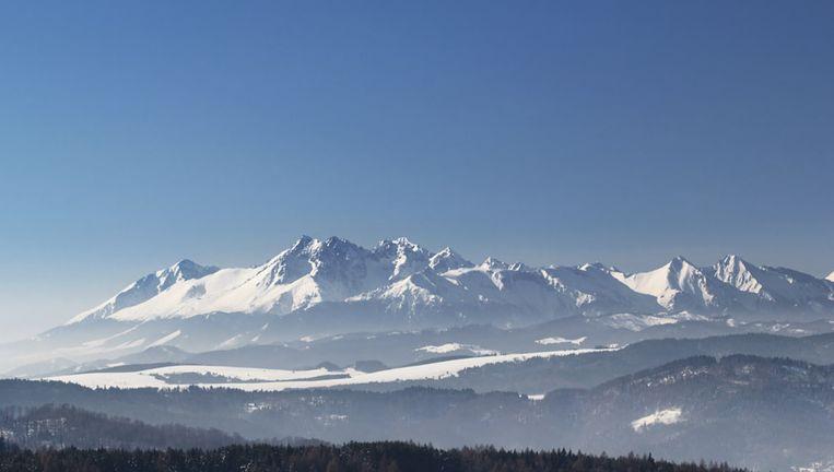 De Hoge Tatra op de grens van Slovakije en Polen.