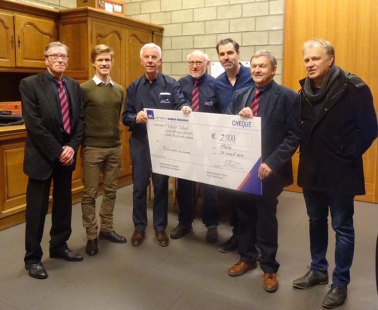 Het optreden van Yevgueni in de kerk van Male bracht 2.000 euro op.