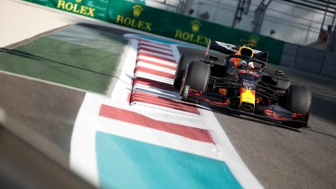 Verstappen begint slotweekend in Abu Dhabi met snelste tijd, Hamilton rijdt vijfde chrono bij rentree